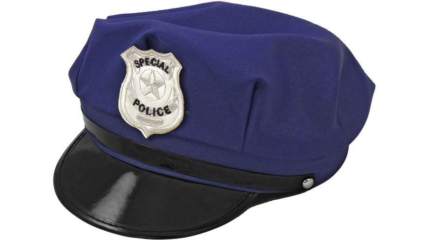 Makotex Polizeimuetze blau