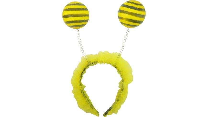 Makotex Haarreif Biene gelb schwarz