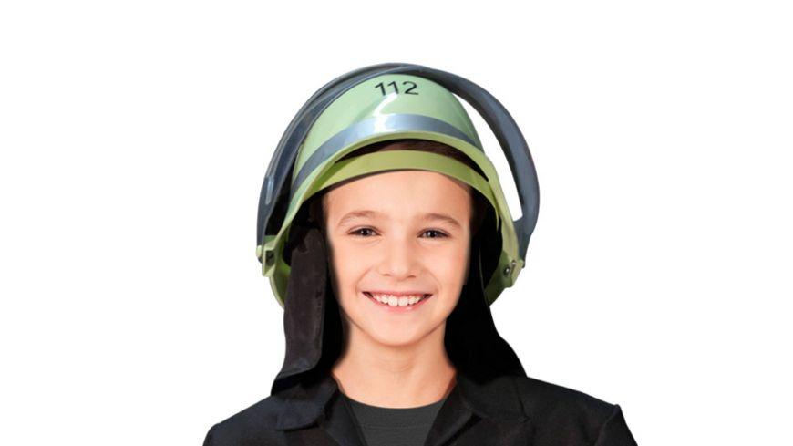 Makotex Kinder Helm Feuerwehrmann