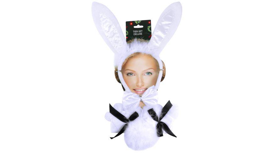 Makotex Hasen Set Deluxe Bunny weiss