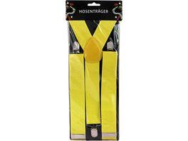 Makotex Hosentraeger breit gelb