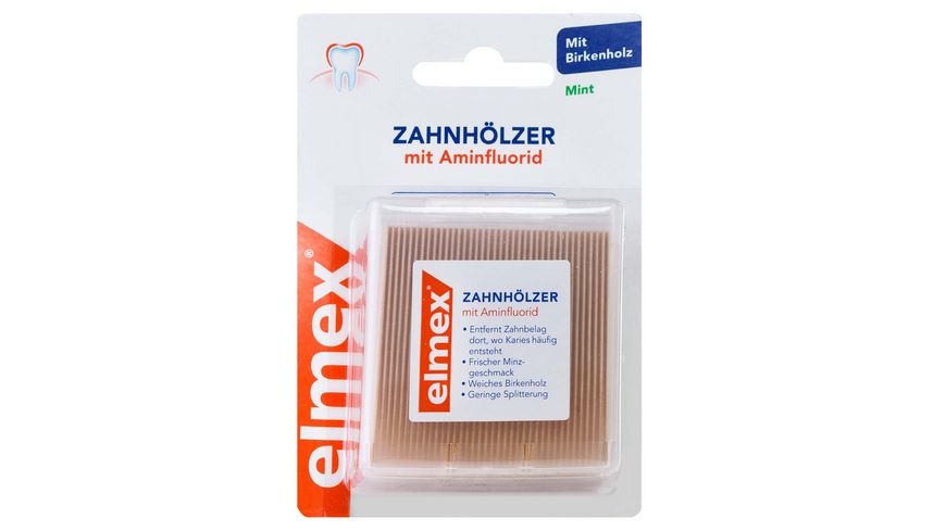 elmex Zahnhoelzer