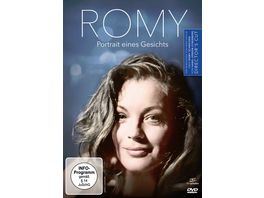 Romy Schneider Portrait eines Gesichts DC