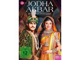 Jodha Akbar Die Prinzessin und der Mogul Box 4 Folge 43 56 3 DVDs