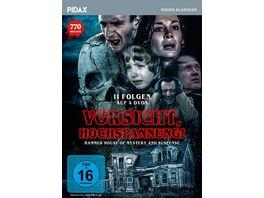 Vorsicht Hochspannung Hammer House of Mystery and Suspense Pidax Film Klassiker 4 DVDs