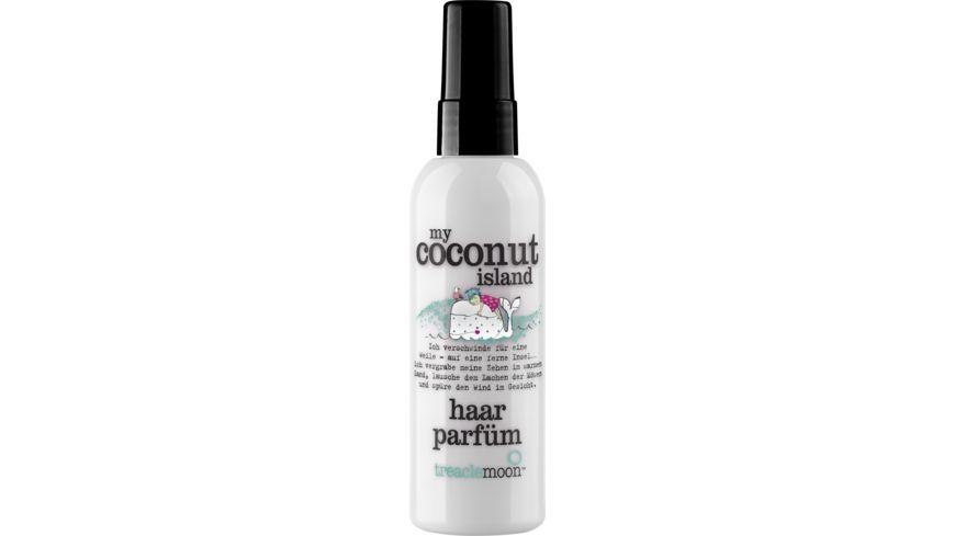 treaclemoon haarparfuem my coconut island