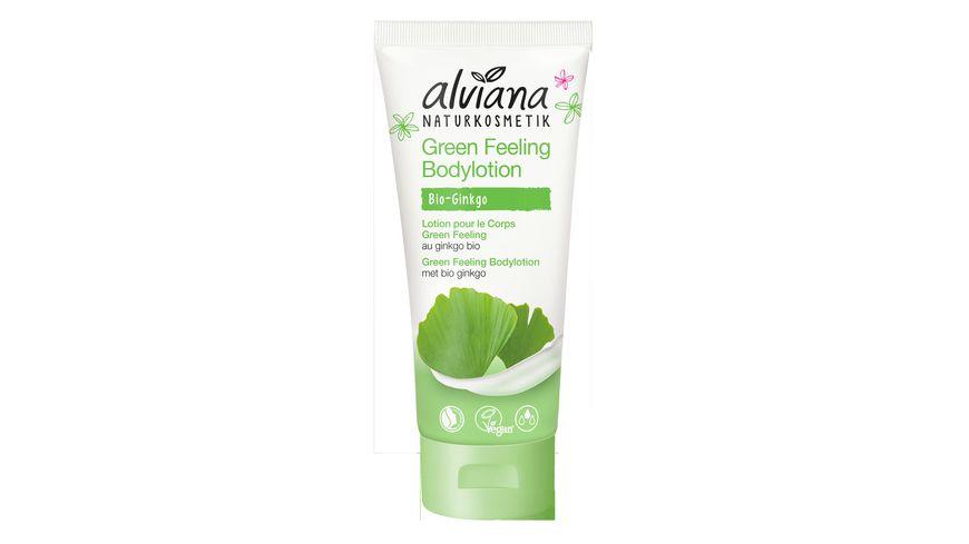 alviana Green Feeling Bodylotion
