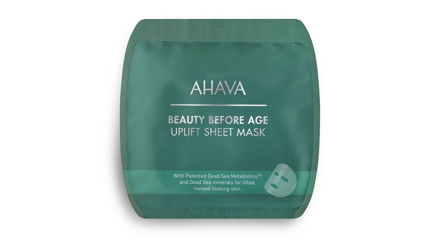 AHAVA Uplifting Firming Sheet Mask