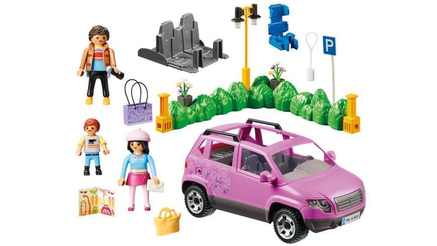 PLAYMOBIL 9404 Familien PKW mit Parkbucht