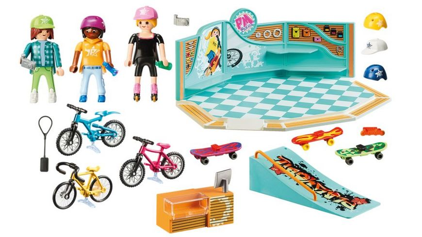 PLAYMOBIL 9402 Bike Skate Shop