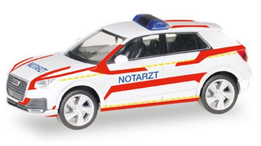 Herpa 093361 Audi Q2 Notarzt