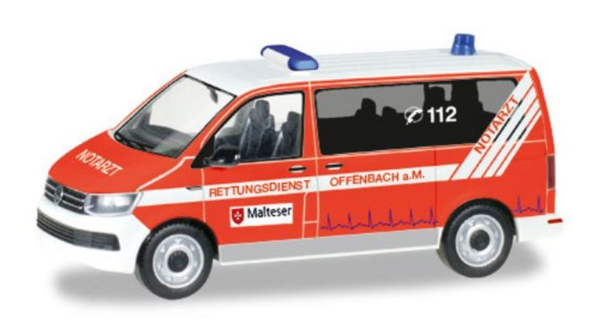 Herpa 093415 VW T6 Bus Malteser Offenbach