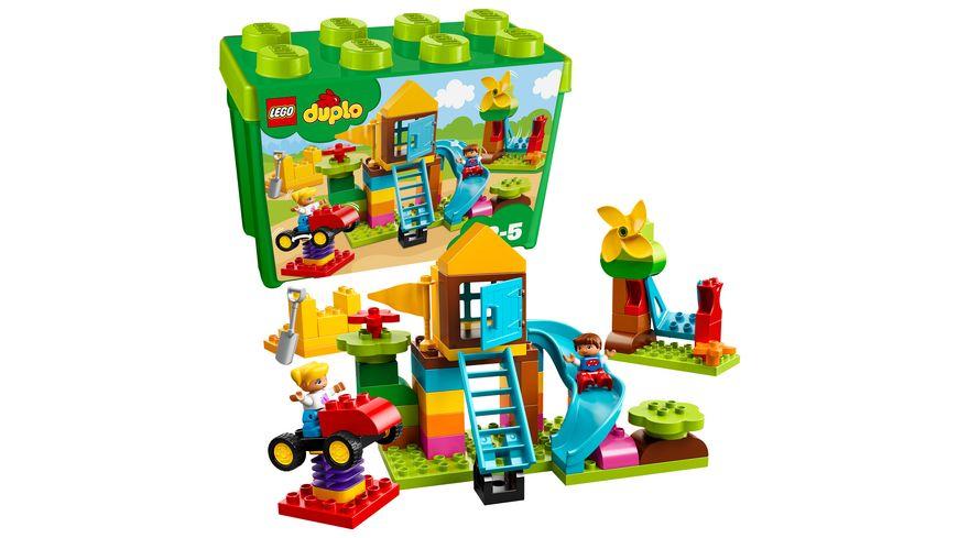 LEGO DUPLO 10864 Steinebox mit grossem Spielplatz