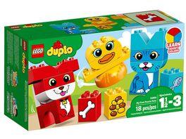 LEGO DUPLO 10858 Meine ersten Tiere Farben lernen