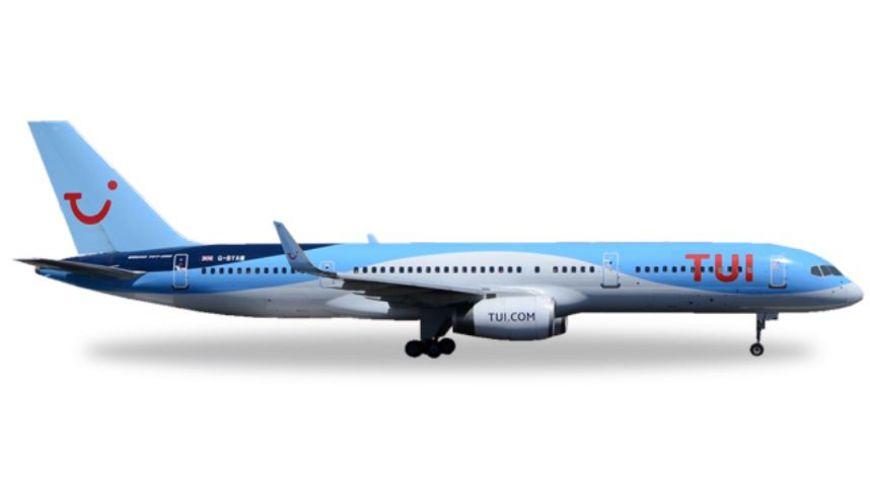 Herpa 530903 Wings TUI Airlines Thomson Airways Boeing 757 200 G BYAW