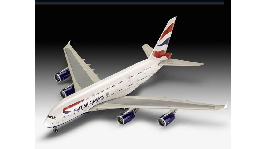 Revell 03922 A380 800 British Airways
