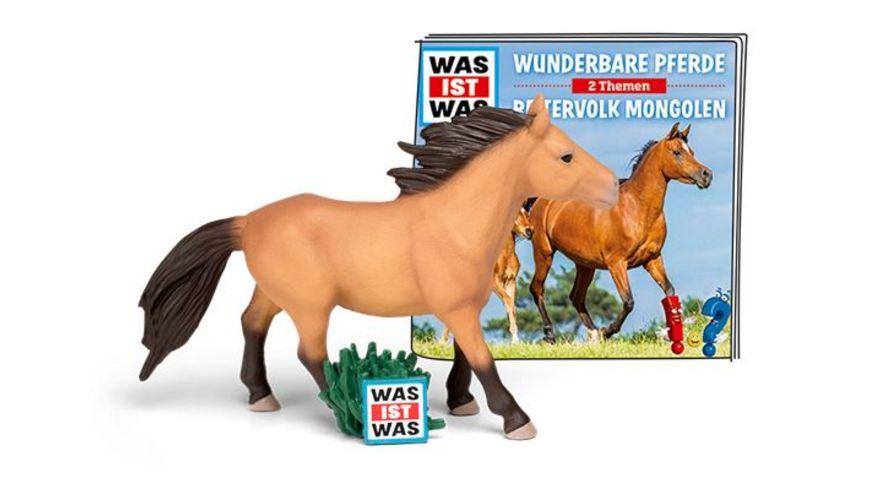 tonies Hoerfigur fuer die Toniebox WAS IST WAS Wunderbare Pferde Reitervolk Mongolen