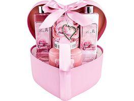 Geschenkset Love in Herzbox