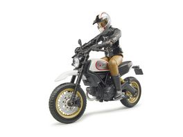 BRUDER Scrambler Ducati Desert Sled mit Fahrer 63051