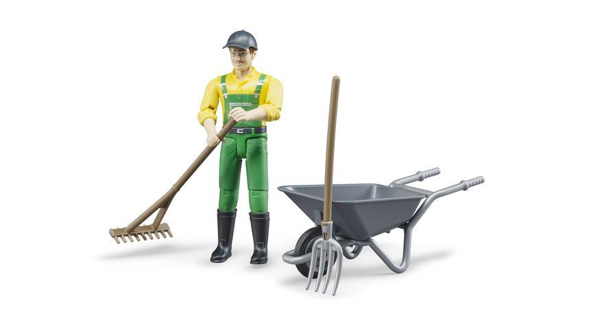 BRUDER Figurenset Landwirt 62610