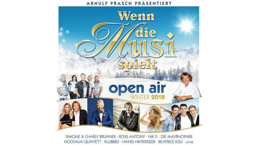 Wenn die Musi spielt Open Air Winter 2018