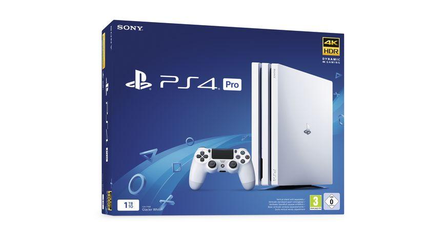 PS4 Pro Konsole 1 TB weiss