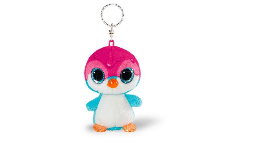 NICI Schluesselanhaenger NICIdoos Pinguin Deezy Sirup Edition BeanBag 9cm