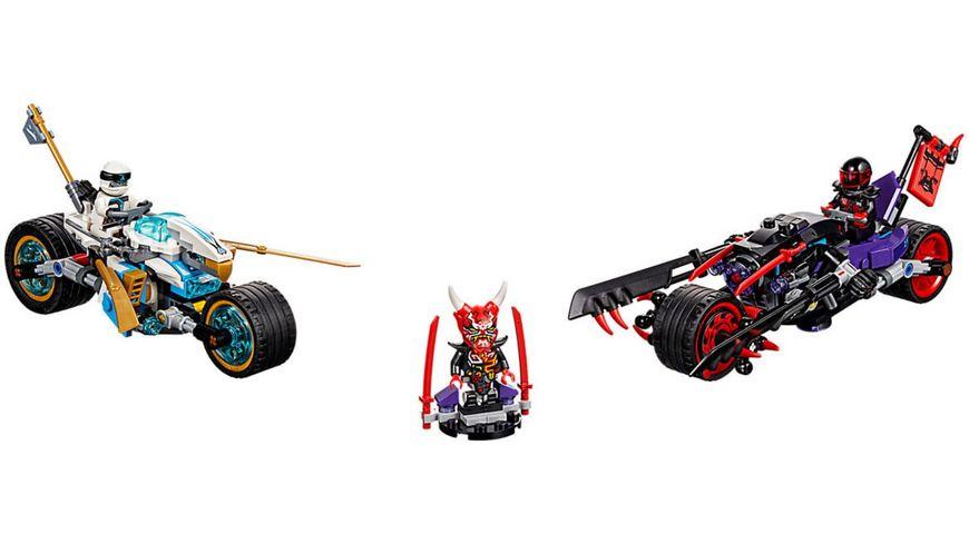 LEGO Ninjago 70639 Strassenrennen des Schlangenjaguars
