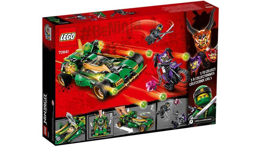 LEGO Ninjago 70641 Lloyds Nachtflitzer