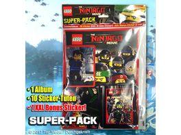 Blue Ocean Lego Ninjago Movie Sticker Super Pack