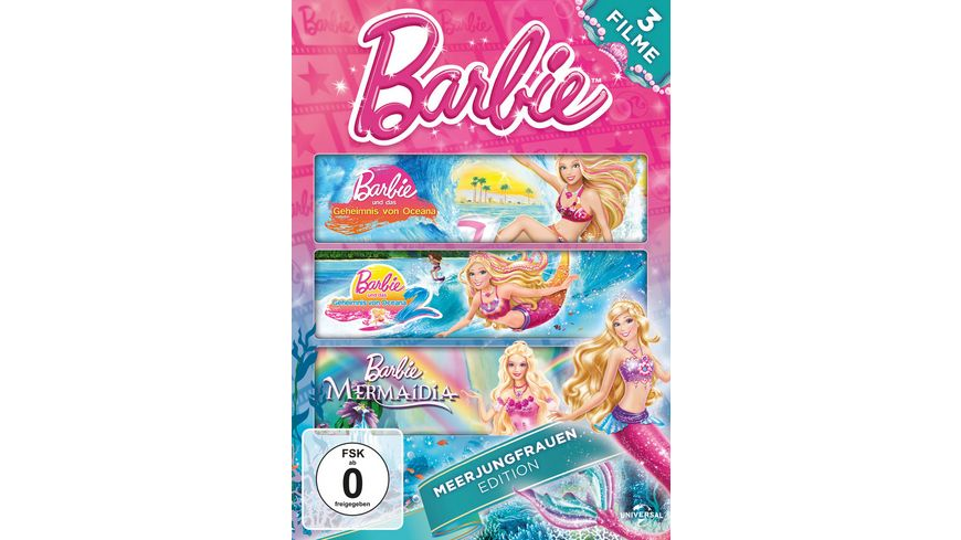 Barbie Meerjungfrauen Edition 3 DVDs