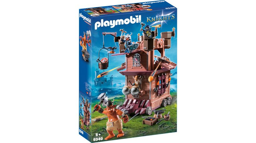 PLAYMOBIL 9340 Knights Mobile Zwergenfestung