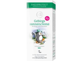 PAEDIPROTECT Gebirgssonnencreme LSF 50