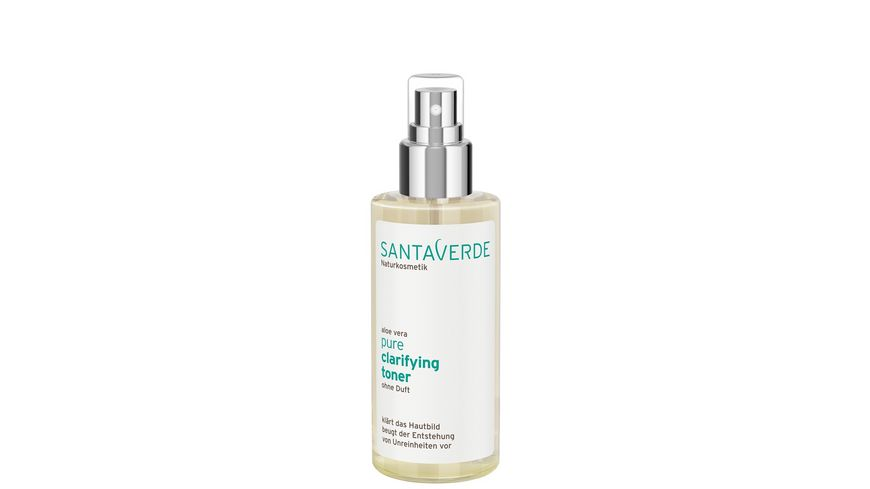 Santaverde pure clarifying toner ohne Duft