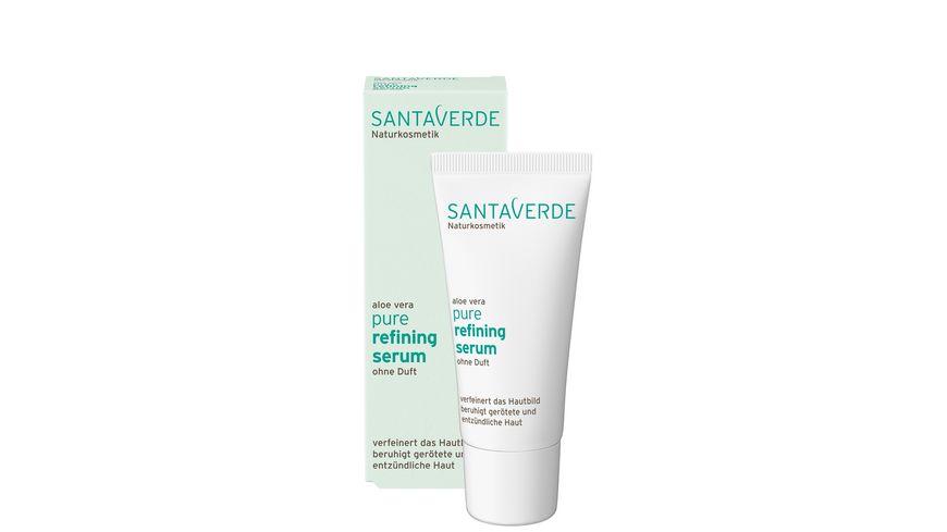 Santaverde pure refining serum ohne Duft