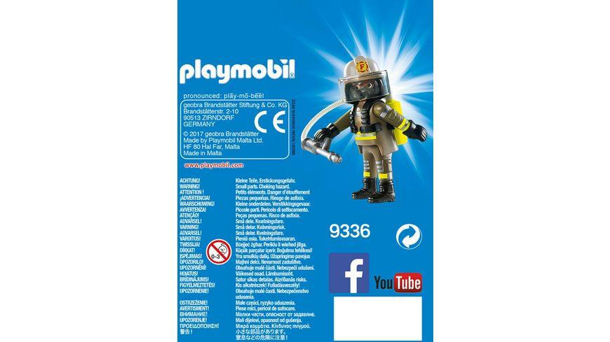 PLAYMOBIL 9336 Playmo Friends Feuerwehrmann