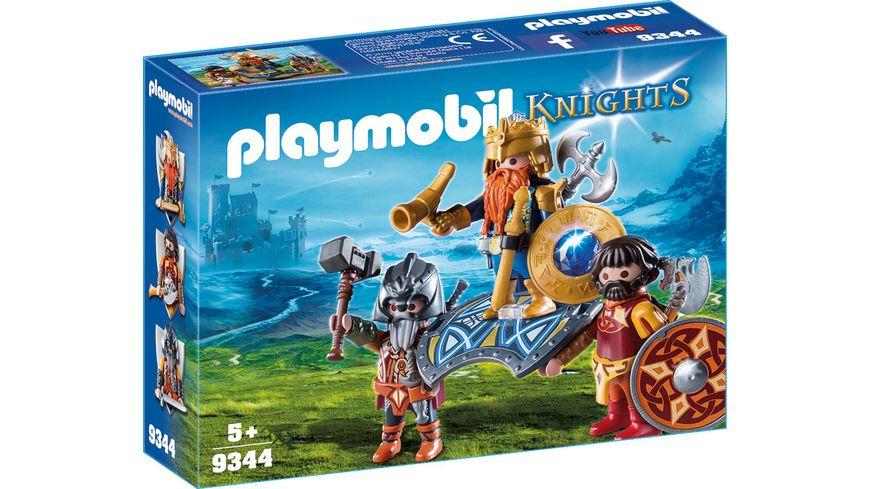 PLAYMOBIL 9344 Knights Zwergenkoenig