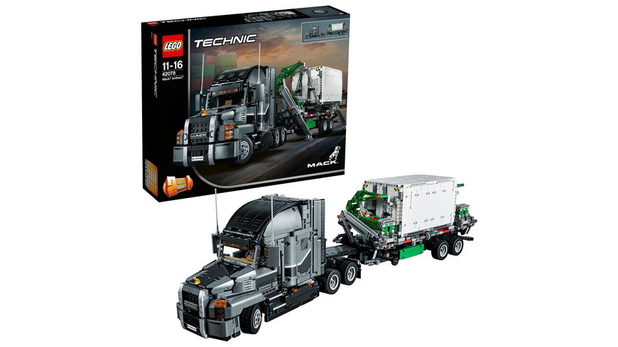 lego technic 42078 mack anthem online bestellen m ller. Black Bedroom Furniture Sets. Home Design Ideas