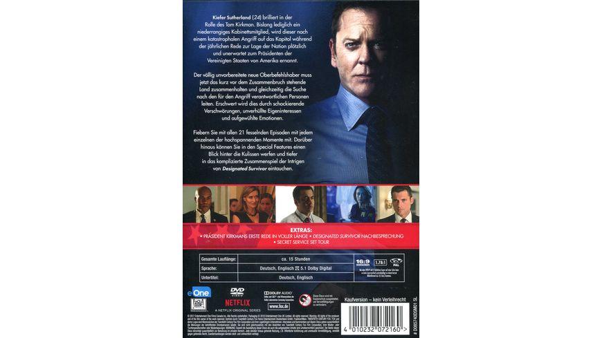 Designated Survivor Staffel 1 6 DVDs