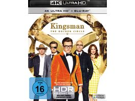 Kingsman The Golden Circle 4K Ultra HD Blu ray