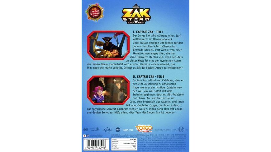 Zak Storm Folge 1 Captain Zak Die DVD zur TV Serie