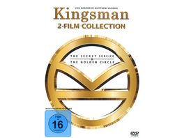 Kingsman Teil 1 2 2 DVDs