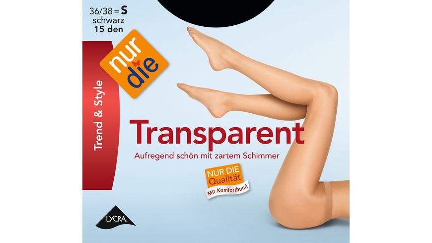 NUR DIE Strumpfhose Transparent 15