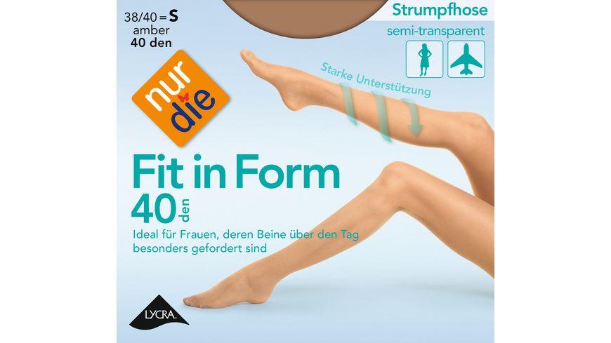 NUR DIE Strumpfhose Fit in Form 40