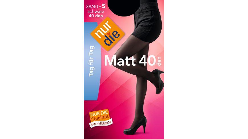 NUR DIE Strumpfhose Matt 40