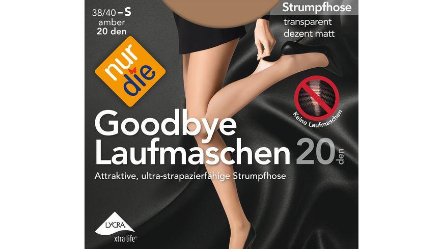 NUR DIE Strumpfhose Goodbye Laufmaschen 20