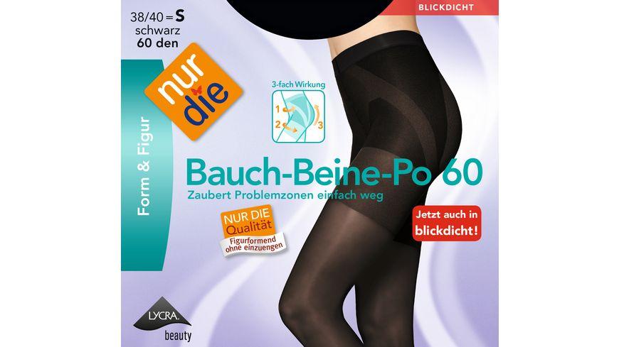 NUR DIE Strumpfhose Bauch Beine Po 60