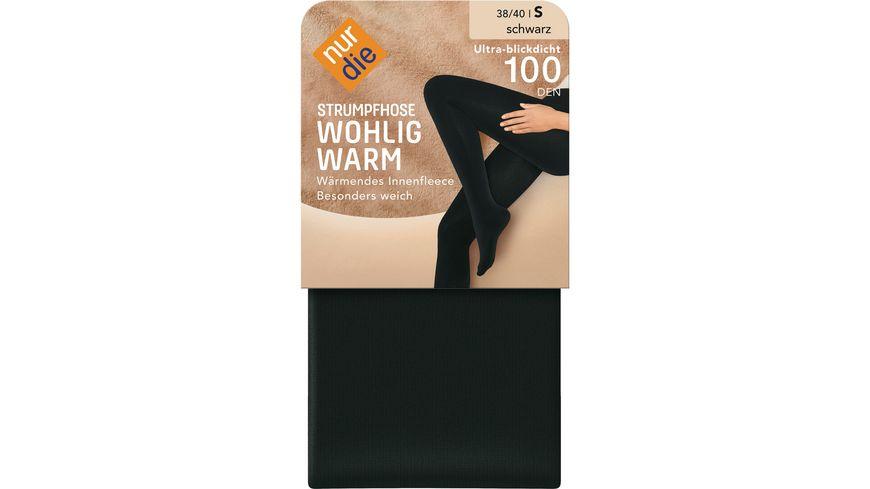 NUR DIE Strumpfhose Wohlig Warm 100