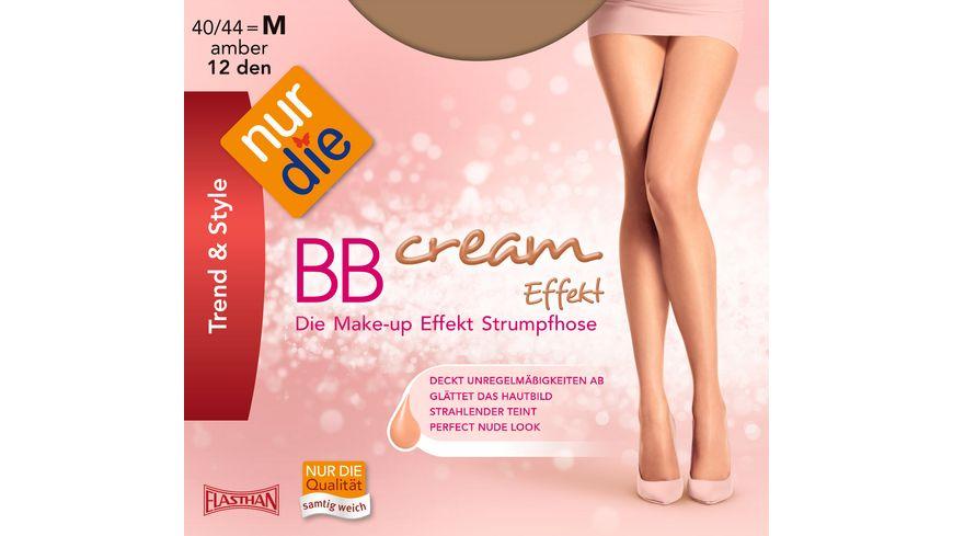 NUR DIE Strumpfhose BB Cream Effekt 12