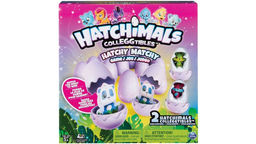 Spin Master Hatchimals HATCHY MATCHY Game
